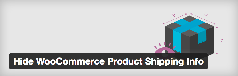 "Plugin page for ""Hide WooCommerce Shipping Information"""
